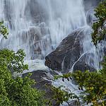 Base of Whitewater Falls