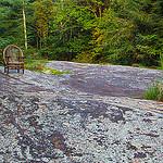Carl Sandburg's Bentwood Chair