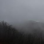 Fryingpan Mountain Through the Fog