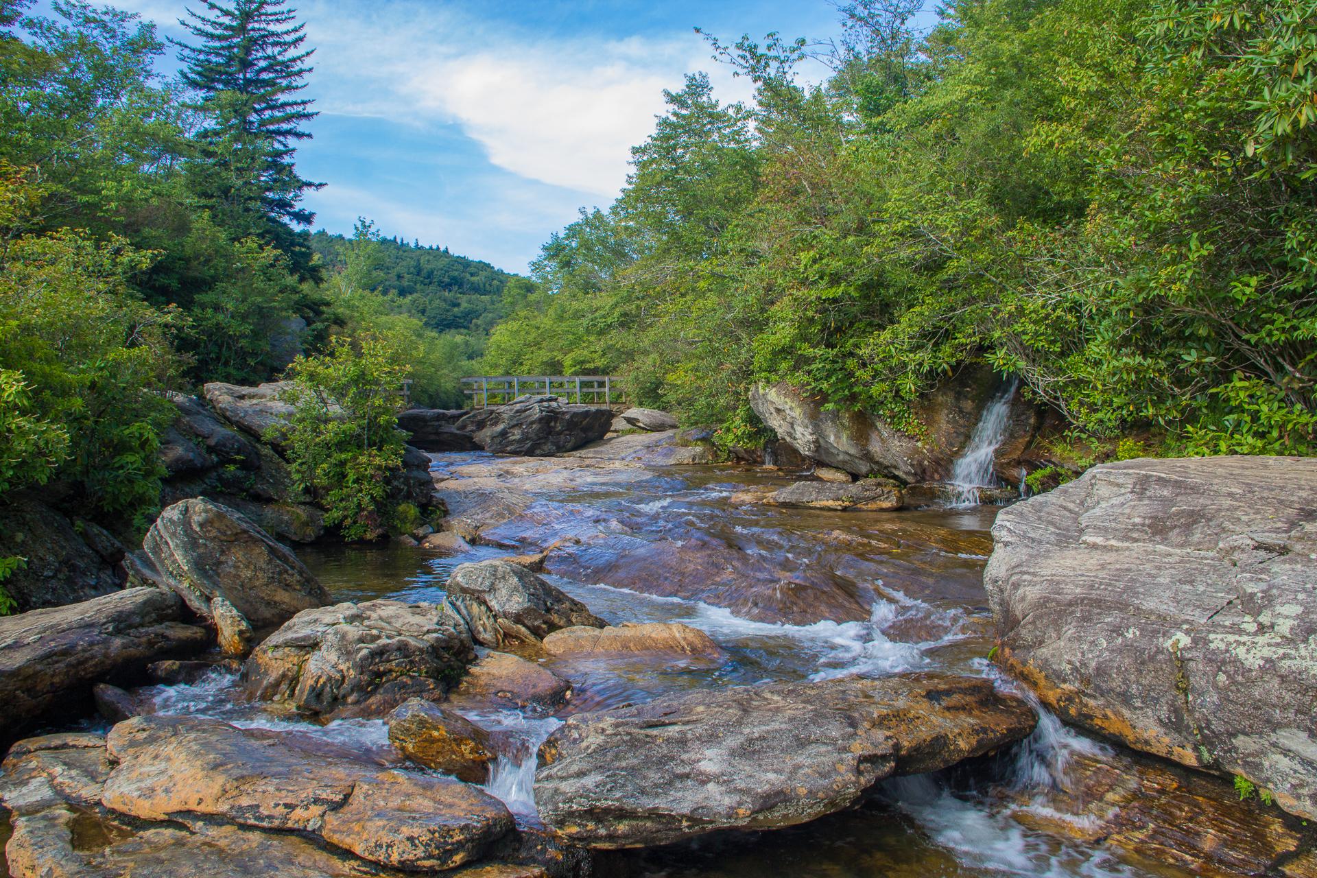 Blue Ridge Parkway Waterfalls Bing Images