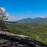 Pilot Mountain from John Rock