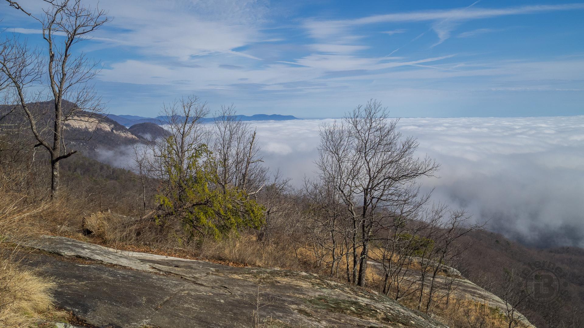 Pinnacle Mountain Trail And Ridge Table Rock State Park SC