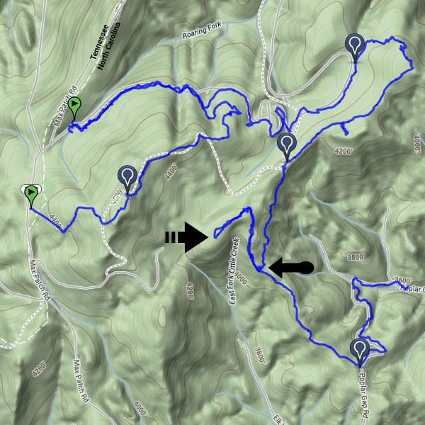 Hiking Debacle Map