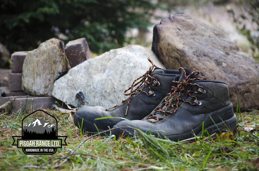 Pisgah Range Ltd. Paracord Boot Laces