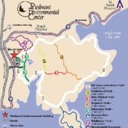 23 miles of hiking trails await across North Carolina's beautiful Piedmont Environmental Center