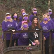 'A sisterhood' | Group of women hike through life's ups and downs together