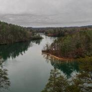 Natural Bridge and Raven Rock Trails, Keowee Toxaway State Park, South Carolina