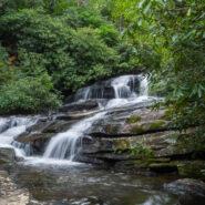 Raven Cliff Falls and Gum Gap Trails, Mountain Bridge Wilderness