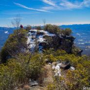 The Pinnacle Trail at Pinnacle Park, Nantahala National Forest